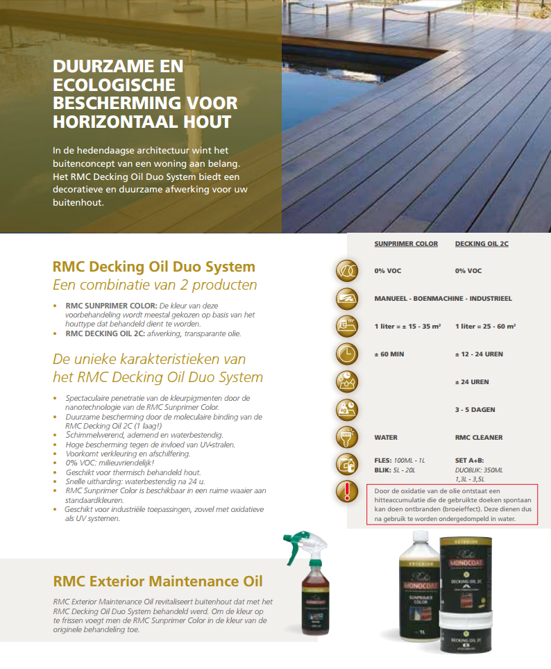 RMC decking Oil 2C