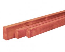 Douglasgeschaafde regel 45x45mm